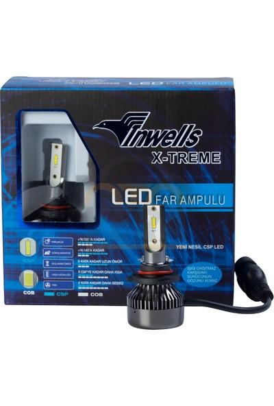 Inwells X-Treme LED Xenon (Zenon) 9012 HIIR2 9000 Lümen Beyaz