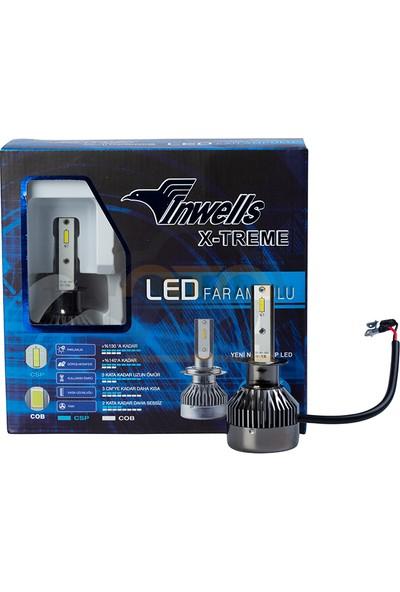 Inwells X-Treme LED Xenon (Zenon) H1 9000 Lümen Beyaz