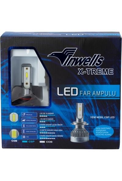 Inwells X-Treme LED Xenon (Zenon) H1 / H3 / H4 / H7 / H11 / H27 / 9005 / 9006