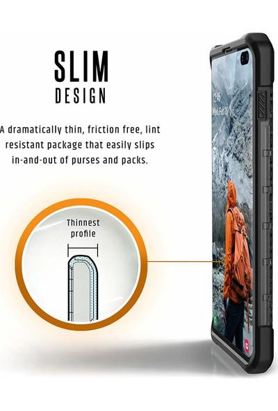 UAG Monarch Samsung Galaxy S10+ Kılıf - Karbon Fiber