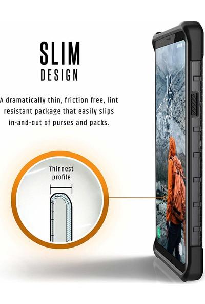 UAG Plasma Samsung Galaxy Note 9 Kılıf - Koyu Saydam
