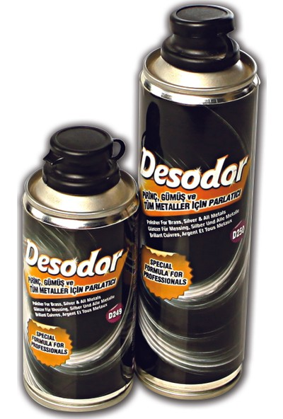 Desodor D249 Pirinç Gümüş Metal Parlatıcı 200 ml