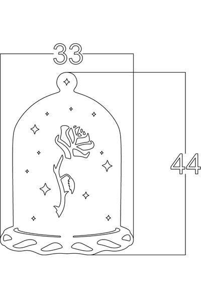 Mingitav Lantern The Rose Duvar Dekoru