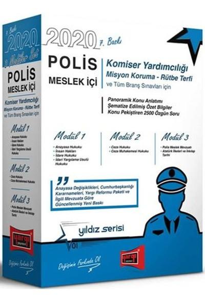 Yargı Yayınevi Polis 2020 Meslek Içi Sınavlarına Hazırlık Konu Anlatımlı Modüler Set