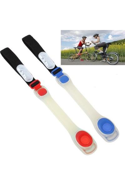 Pozitif Bisiklet Kullanımında Kol ve Bacağa Uygun Taşınabilir LED Işık