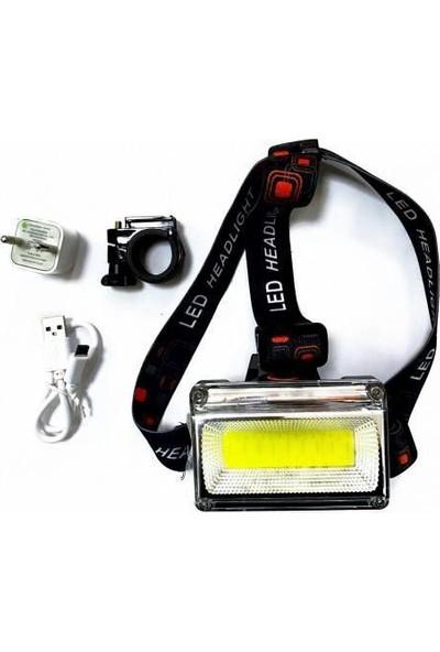 Pozitif Kafa Lambası ve Bisiklet Farı 4 Farklı Işık LL-6653B