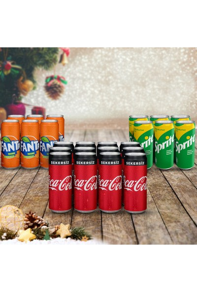 Coca-Cola Muhteşem Üçlü Karma Yılbaşı Paketi 2
