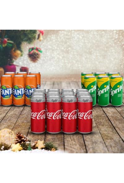 Coca-Cola Muhteşem Üçlü İçecek Paketi 3