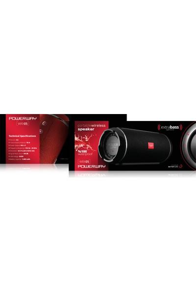 Powerway WRX05 Bluetooth Hoparlör Extra Bass