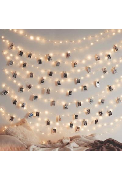 Süme Peri LED Ince Telli Dekoratif Yılbaşı Süs LED Işık 5 m