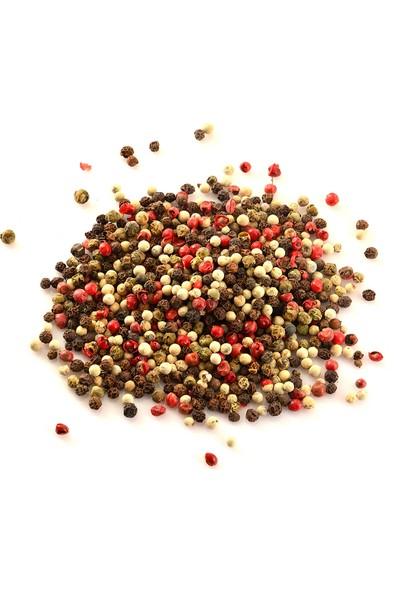 Şifamarketim Renkli Tane Karabiber 250 gr ( Yeşil - Kırmızı - Siyah - Beyaz Biber )
