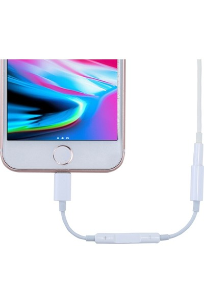 Ssmobil Apple iPhone Lightning 3.5mm Kulaklık Adaptörü SS26080