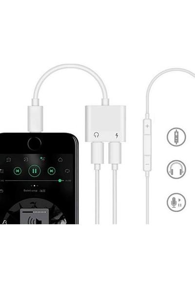 Ssmobil Apple iPhone Lightning Kulaklık + Şarj USB Adaptörü SS270