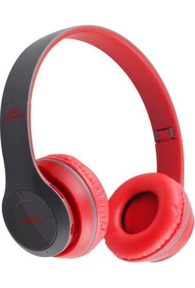 Daytona SD Kart Girişli Bluetooth 5.0 Kulaklık - Kırmızı