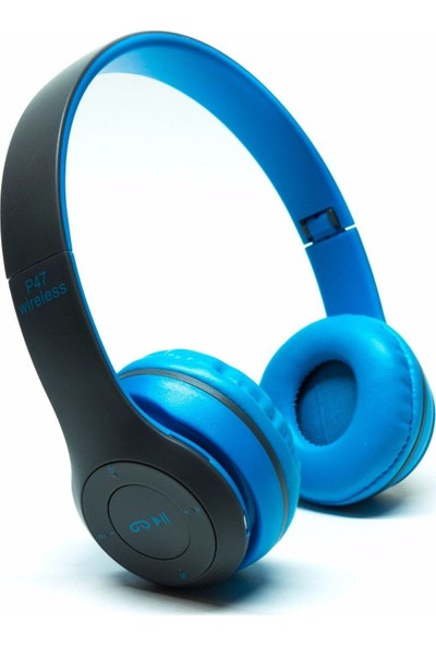 Daytona SD Kart Girişli Bluetooth 5.0 Kulaklık - Mavi