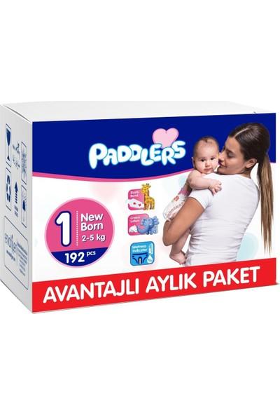 Paddlers 1 Numara Newborn 192 Adet (2-5 kg) Aylık Paket