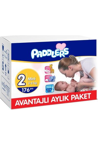 Paddlers 2 Numara Mini 176 Adet (3-6 kg) Aylık Paket