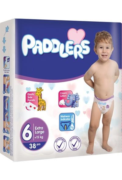 Paddlers 6 Numara X-Large 38 Adet (15+kg) Jumbo Paket