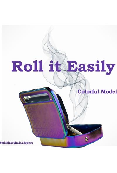 Alcan Als Tobacco Alcan Renkli Sigara Sarma Makinası, Tutun Tabakası, Sigara Tütün Sarma Aleti