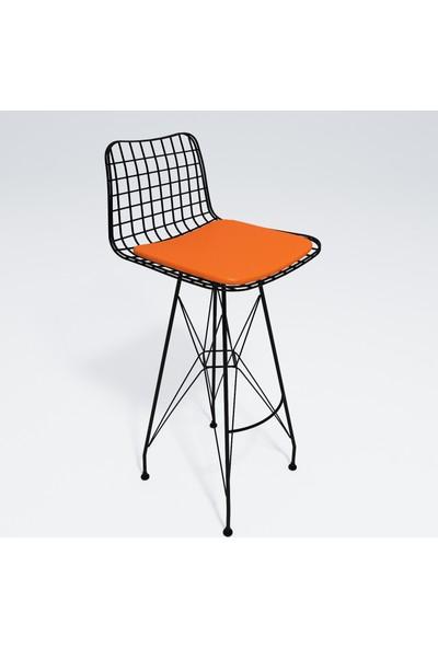 Kenz Life Knsz Kafes Tel Bar Sandalyesi 1 Li Zengin Syhtrn Ofis Cafe Bahçe Mutfak