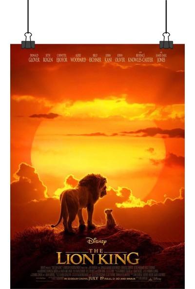 Aslan Kral Disney Lion King Sinema Film Afiş 48 x 33 cm Posteri