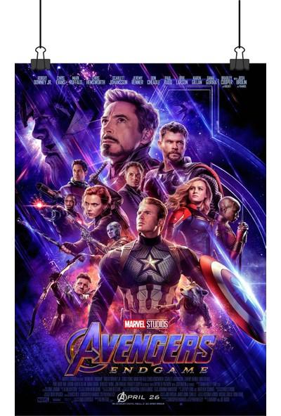 Avengers Endgame Yenilmezler Son Oyun End Game Sinema Film Afiş 48 x 33 cm Posteri