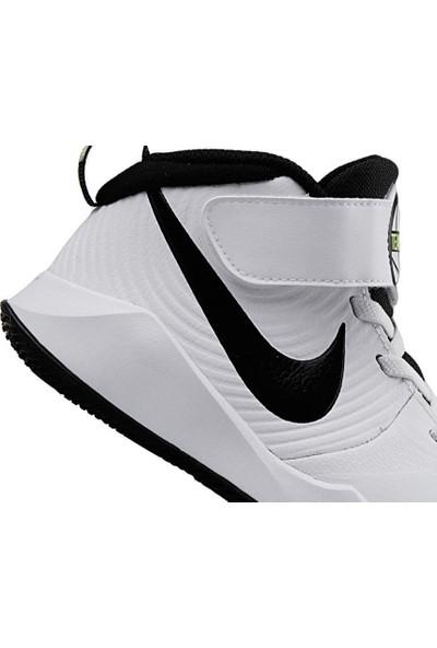 Nike Aq4225 100 Team Hustle Çocuk Basketbol Ayakkabısı