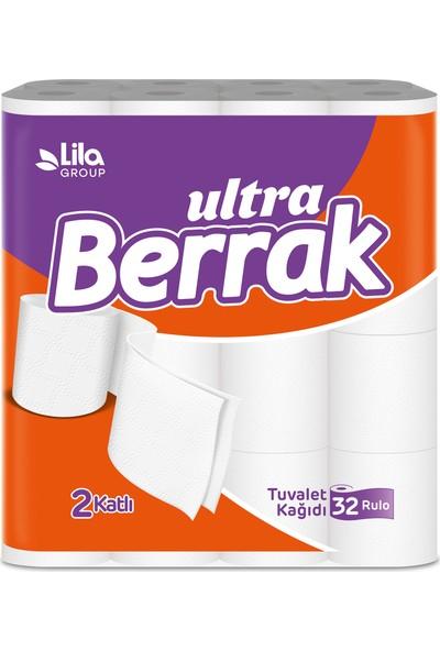 Berrak Çift Katlı Tuvalet Kağıdı 32'Li