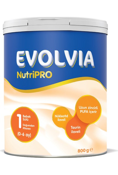 Evolvia NutriPRO 1 Bebek Sütü 800 gr