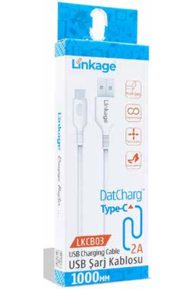 Linkage Type-C Şarj ve Data Kablosu 2A