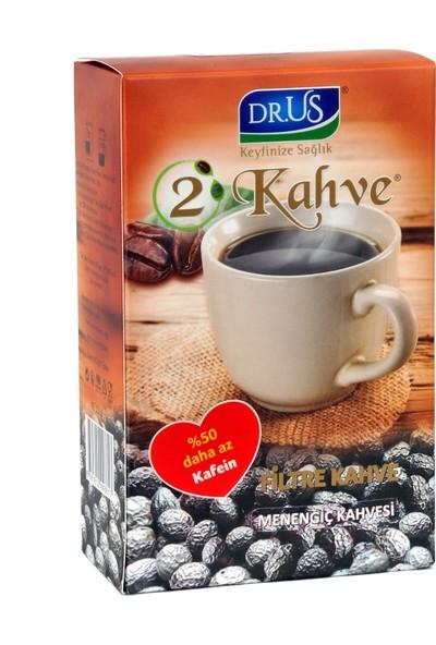 Dr.us 2 Kahve Menengiç Filitre Kahve 220 gr