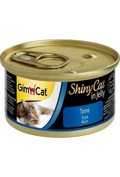 Gimcat Shinycat Ton Balıklı Kedi Konservesi 70 gr 10 Adet