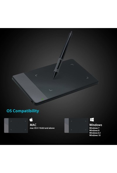 Huion 420 Grafik Çizim Tableti