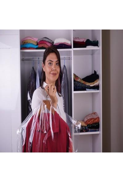 Eldora Şeffaf 3 Adet Elbise Torbası