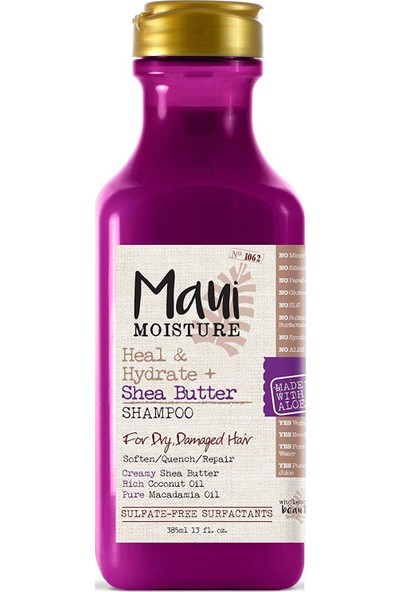 Maui Shea Butter Şampuan 385 ml
