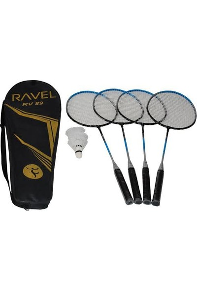 Delta Ravel RV89 Badminton Raket Seti 4 Raket