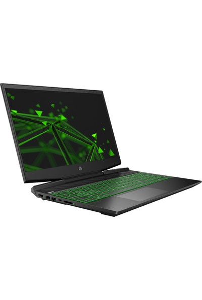 "HP Pavilion 15-DK0018NT Intel Core i7 9750H 16GB 1TB + 128GB SSD GTX1660Ti Freedos 15.6"" FHD Taşınabilir Bilgisayar 8UF66EA"