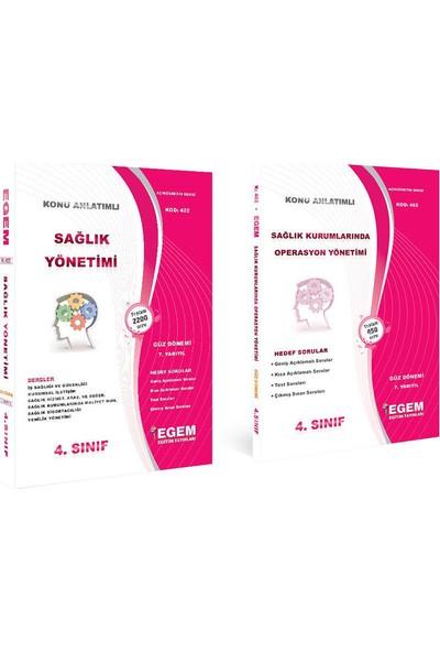 Egem Yayınları Sağlık Yönetimi 4. Sınıf Güz Konu Anlatımlı Soru Bankası Güncel
