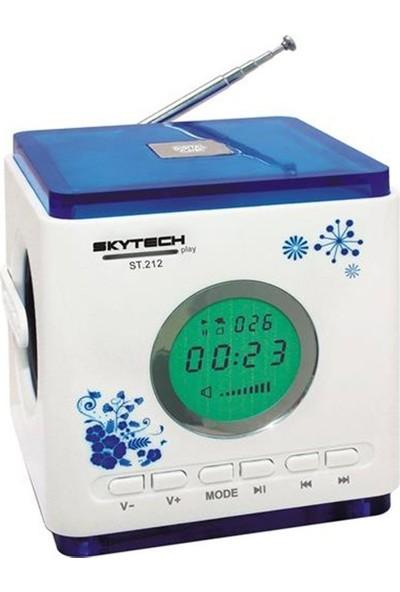 Skytech ST-212 Fm-Usb-Sd-Mmc Müzik Kutusu Mavi