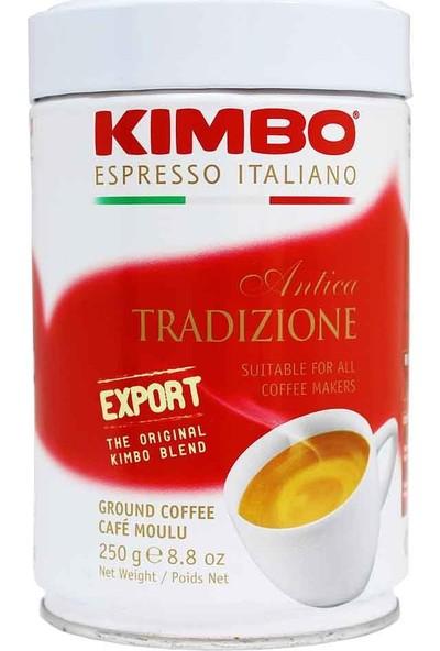 Kimbo Antica Tradizione Filtre Kahve (250 Gr) Teneke Kutu
