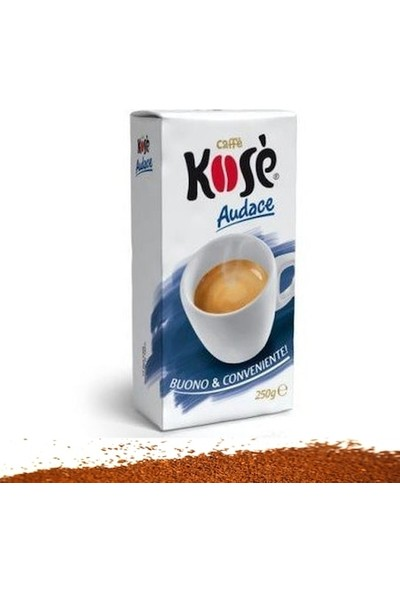 Kımbo Kose Audace Filtre Kahve (250 Gr)