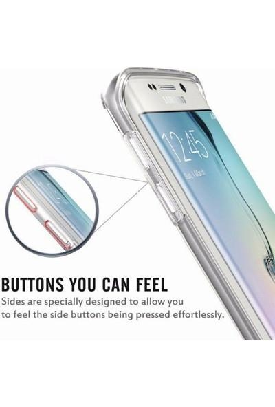 Coverzone Samsung Galaxy J6 Plus Tam Koruma Silikon Kılıf - Şeffaf