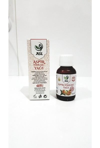 Asl Aspir Tohumu Yağı 50 ml