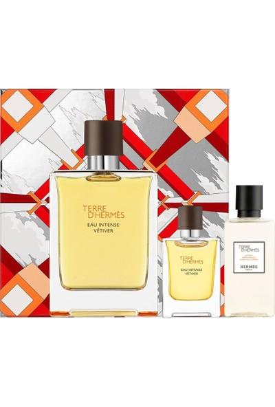 Hermes Terre D'hermes Intense Vetiver Erkek Parfüm Edp 100 Set