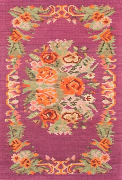 Fendy Halı Antik Dekoratif Antik 04 Krem 080 x 300