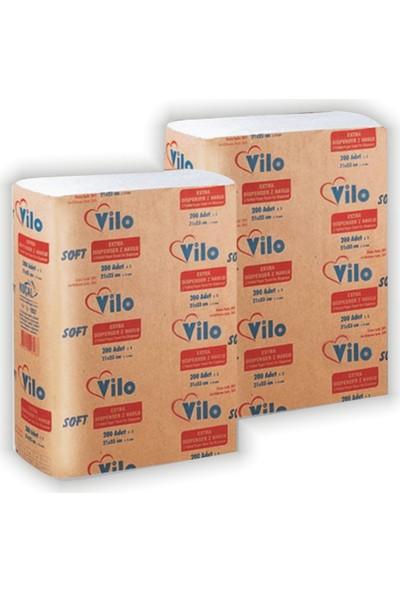 Vilo Soft Dispenser Z Havlu 200 Ypk.