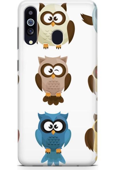 Melefoni Samsung Galaxy A20s Kılıf Owl Serisi Adaline