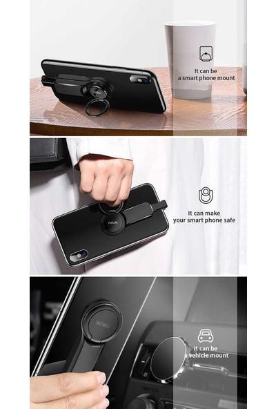 Lopard Wiwu LT05 Lightning 3.5mm iPhone Kulaklık Ses + Şarj Data Dönüştürücü Standlı Adaptör