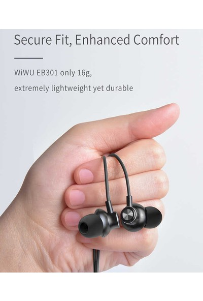 Lopard Wiwu Earbuds 301 Apple iPhone Lightning Portlu Stereo Kulaklık