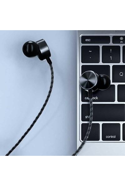 Lopard Wiwu Earbuds 102 3.5mm Stereo Kulakiçi Kulaklık - Siyah